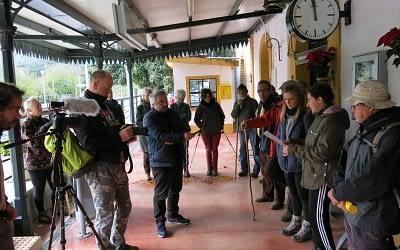 Reclamar la mejora de la línea del tren Algeciras Ronda