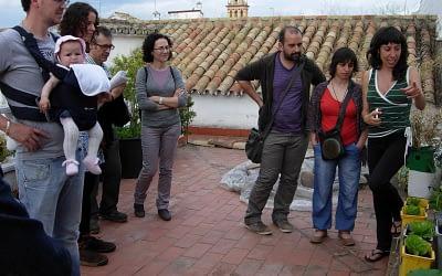 I Visita de Azoteas de la Red Lechugas Urbanas