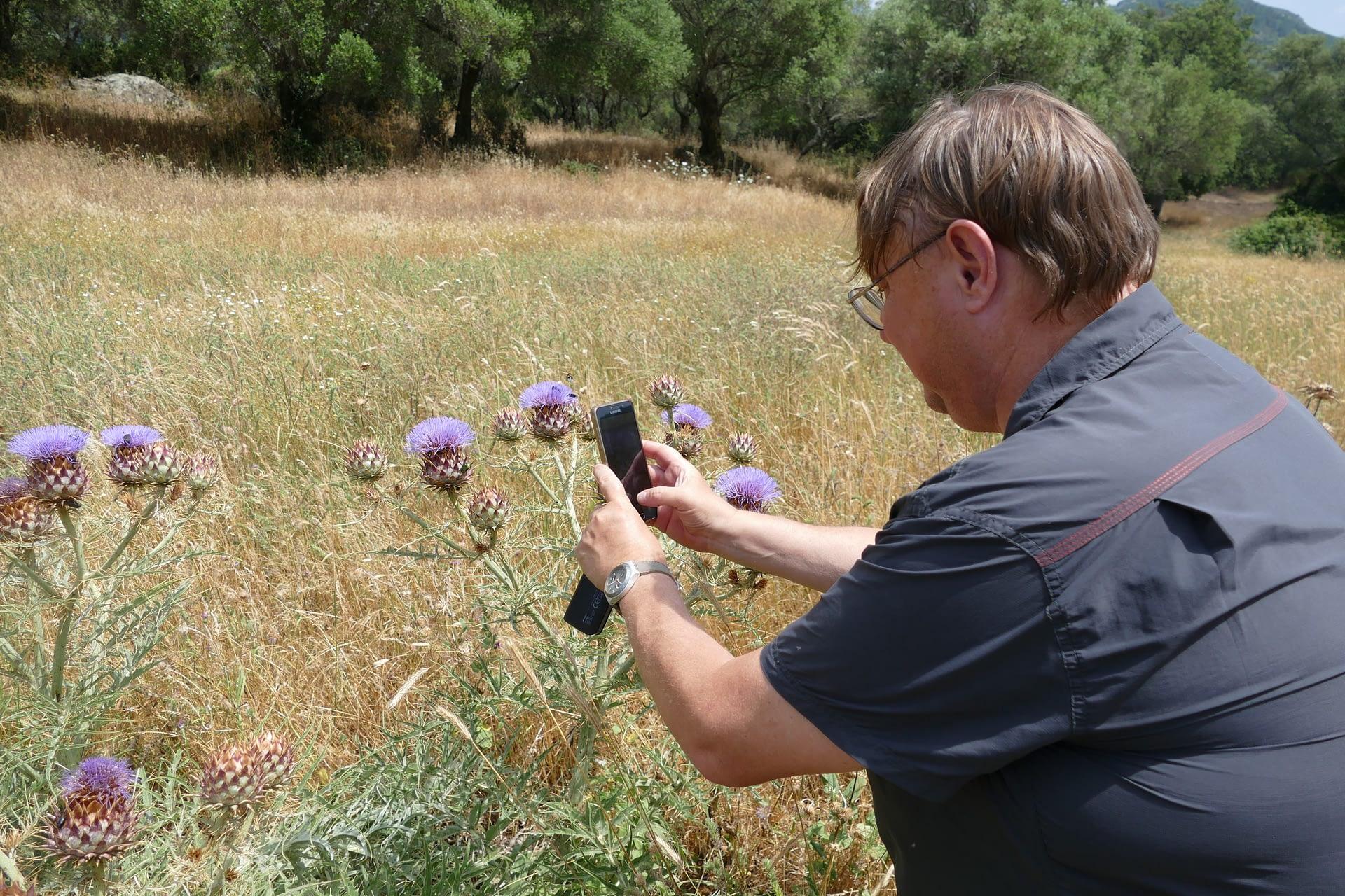Naturalists-in-residence: biodiversity studies