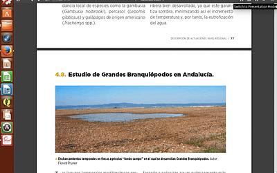 Memoria de Actuaciones en materia de humedales. Año 2013