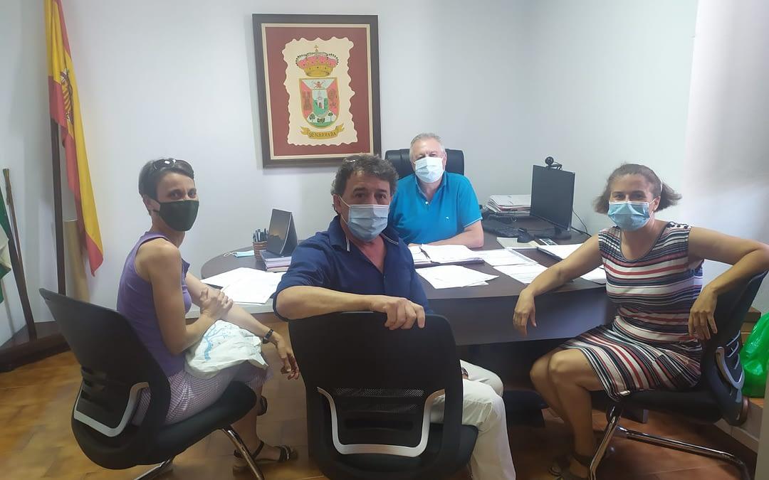 Reunión Gatos Ayuntamiento Benarrabá