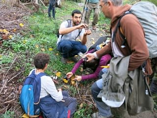Reconocimiento de setas en el Valle del Genal.