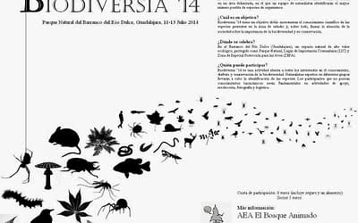 Anuncio de Biodiversia '14